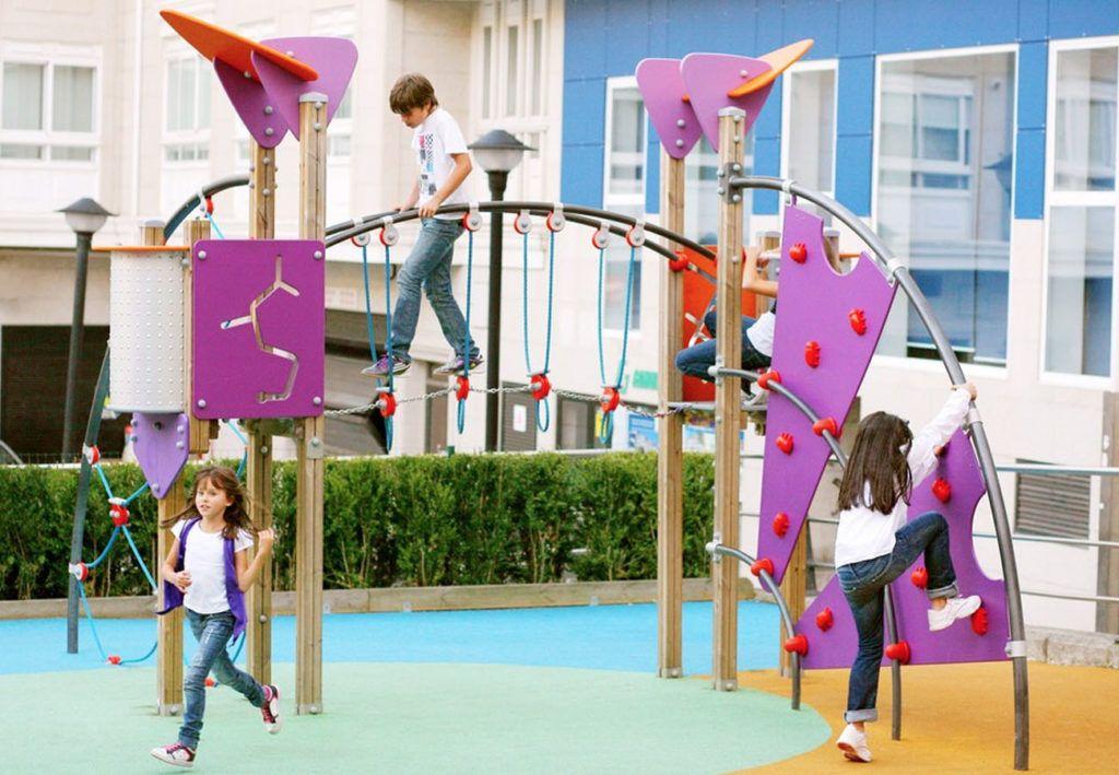gamas galopin parques infantiles fusion