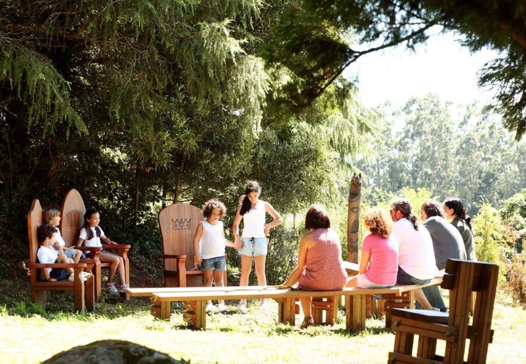 gamas galopin parques infantiles redes